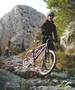 Lisicina pass, mountain bike - Omis