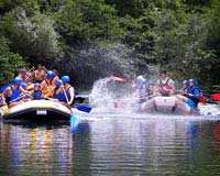 Rafting on Cetina, Omis